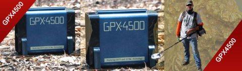 جهاز GPX4500 الاول في البحث عن العملات