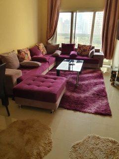 للايجار شقة مفروشة بالتعاون غرفة وصالة فرش جيد
