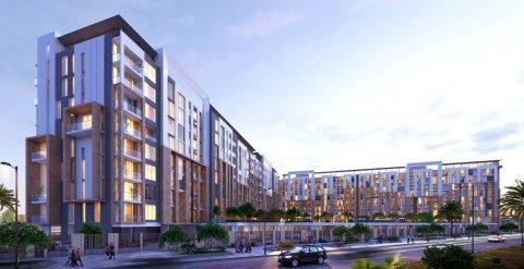 شقة فخمة للبيع ضمن مجمع فلل رائع  في دبي لاند ب قسط شهري 3 آلاف درهم