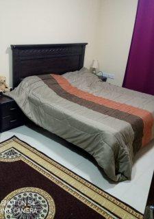 للايجار شقة مفروشة بالقليعة غرفة وصالة فرش جيد \