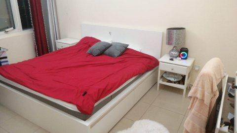 للايجارشقة مفروشة بالتعاون غرفة وصالة فرش ممتاز