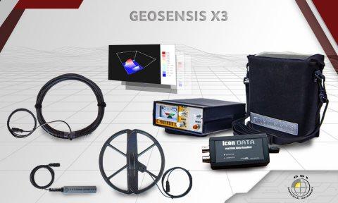 جهاز كشف الذهب والمعادن جيوسنس اكس 3