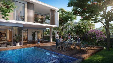بدفعة أولى 82 ألف درهم تملك فيلا دورين 4 غرف وصالة في دبي