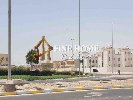 للبيع..أرض سكنية | مساحة الأرض : 9,645 | الشامخة أبوظبي