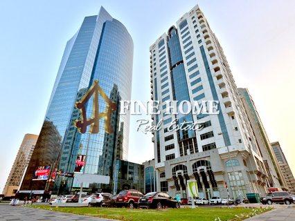 للبيع..برج مميز | 19 طابق | 181 شقة | الخالدية أبوظبي