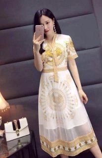 فستان نساء صيفي (A21028)