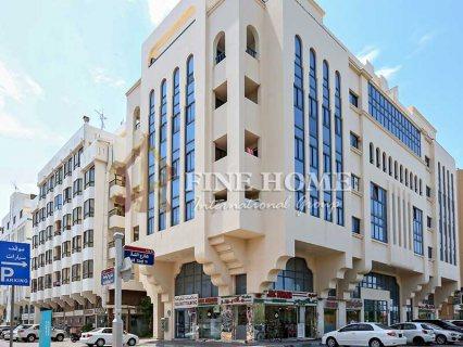 للبيع..بناية تجارية | 4 طوابق | زاويتين و 3 شوارع | المرور أبوظبي