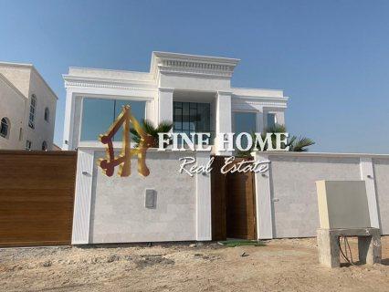 للبيع..فيلا 6 غرف نوم | أول ساكن | مدينة خليفة أبوظبي