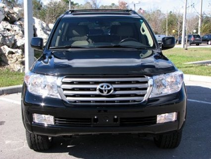 2011 Toyota Land Cruiser  Rear DVD System