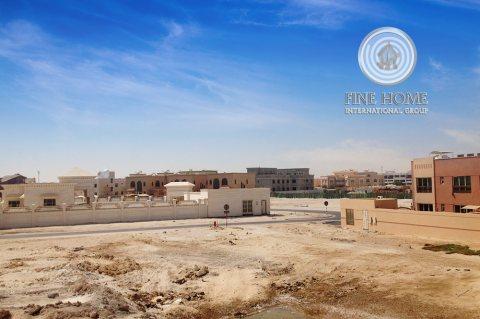للبيع .. أرض تجارية | بموقع مميز | مدينة خليفة أبوظبي