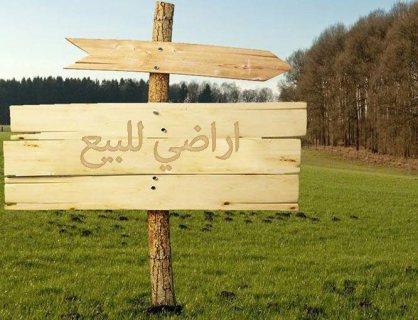 اراضي مخطط جديد بالحيلو ارضي وطابقين وبألاقساط