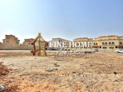 للبيع ..أرض تجارية   مساحة كبيرة   مدينة خليفة أبوظبي