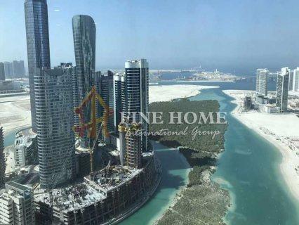 للبيع ..أرض سكنية   تصريح بناء برج 12 طابق   جزيرة الريم أبوظبي