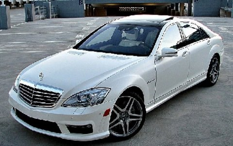 2011 Mercedes-Benz S63 White no defects