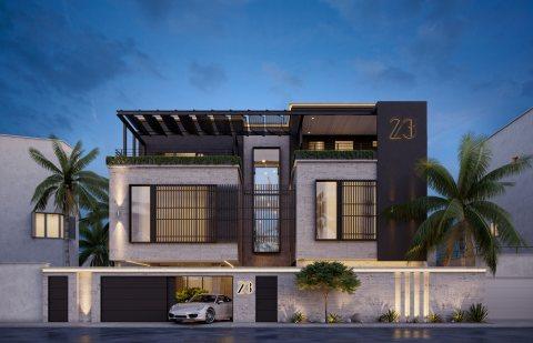 ارض سكنى شارع وسكة بالمنامة 8 خلف مدرسة المنامة