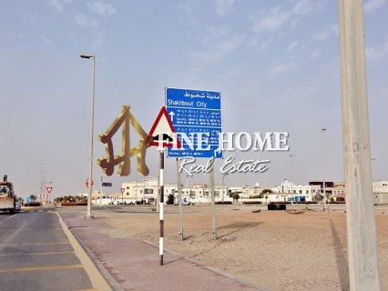 للبيع..فيلا 6 غرف | مجلس كبير و حوش | مدينة شخبوط أبوظبي