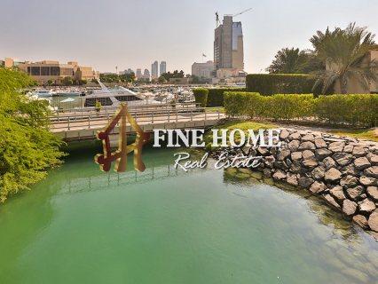 للبيع..أرض سكنية   بإطلالة رائعة على البحر   جزيرة ناريل أبوظبي