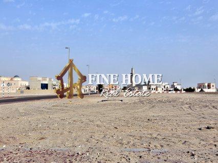 للبيع ..أرض تجارية | على شارعين | مدينة شخبوط أبوظبي