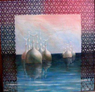 لوحه فنيه نادره لفنان شهير للعظماء