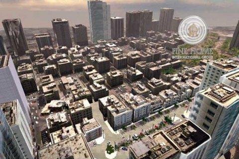 للبيع..بناية تجارية   12 طابق   74 شقة   معسكر ال نهيان أبوظبي