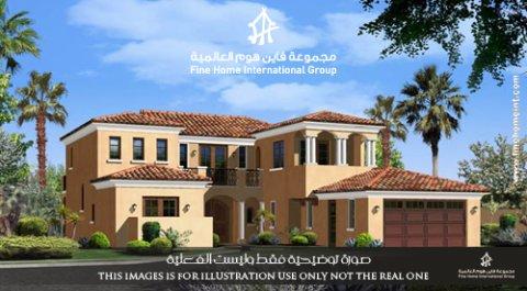 عقارات للإيجار في أبو ظبي- للإيجار فيلا في مدينة خليفة أ