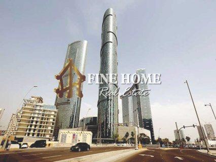 للبيع..برج تجاري   10 طوابق   48 شقة   جزيرة الريم أبوظبي
