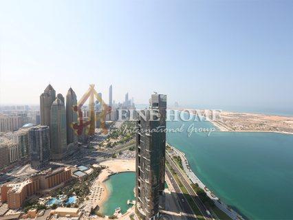 للبيع..أرض تجارية   تصريح بناء برج 18 طابق   النادي السياحي أبوظبي