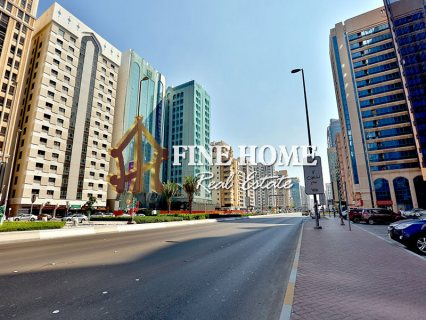 للبيع ..برج تجاري   23 طابق   شارع المطار أبوظبي