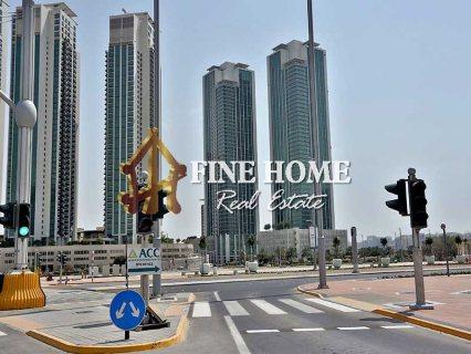 للبيع ..أرض سكنية   تصريح بناء برج 25 طابق   جزيرة الريم أبوظبي