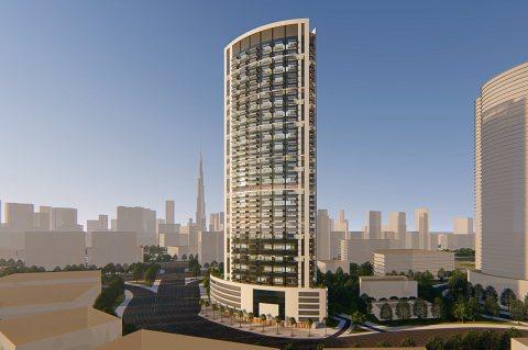#بقسط_شهري_3_آلاف_درهم  تملك غرفة وصالة جوار #برج_خليفة في البزنس باي #دبي
