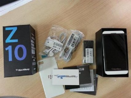 Blackberry Z10 @ $500usd (1250 AED)
