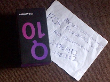 BlackBerry Q10 (Latest Model) -16GB - Black (Unlocked) - AED2500