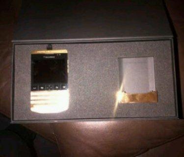 بلاك بيري Q10 الذهب لوحة المفاتيح العربية (PIN 27D10741)