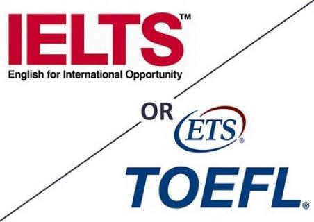 يتوفر لدينا شهادة توفل وايلتس - للطلبات TOEFL And IELTS