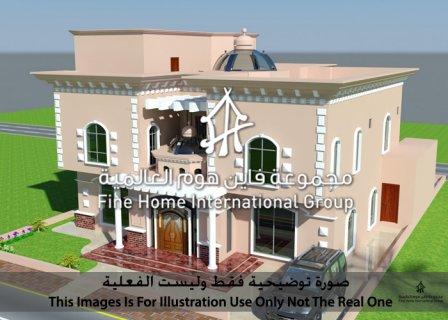 للبيع مجمع 4 فلل في مدينة محمد بن زايد (CO_141)