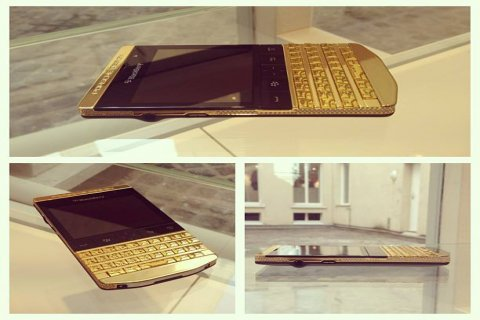 Blackberry Porsche design Gold (add pin 26fc4748)