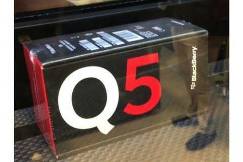 Brand New Blackberry Q5 (Black & Red Color) Special Pin Codes