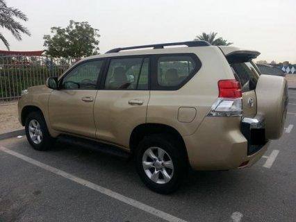 TOYOTA PRADO TXL V6 4.0L 2010 MODEL GOLD