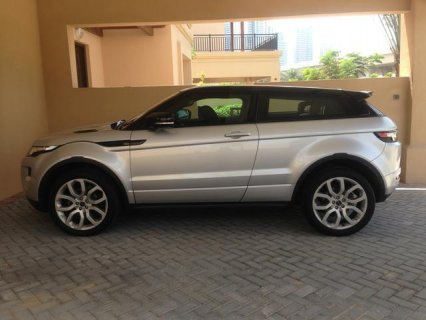 Land Rover Evoque 2012 Silver Dynamic