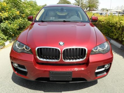 2013 -BMW X6 , TWIN TURBO , 3.5 L , V6 , RED COLOR D