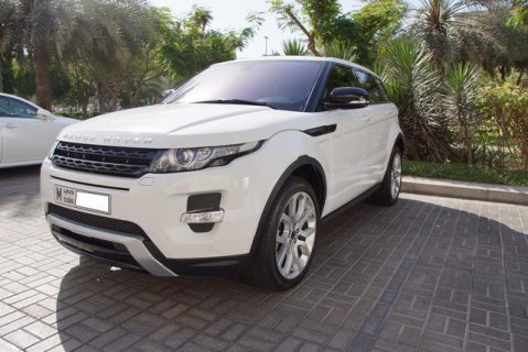 2012  Land Rover  Evoque Dynamic Plus-Fuji white