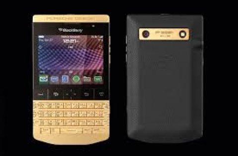 بلاك بيري Q10 - BB بورش P\'9981 الذهب الأسود إضافة دبوس 233DAA2F