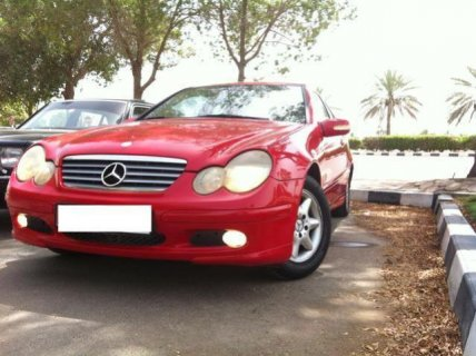 mercedec c 200 kompresor (Price negotiable)مرسيدس س 200 موديل 20