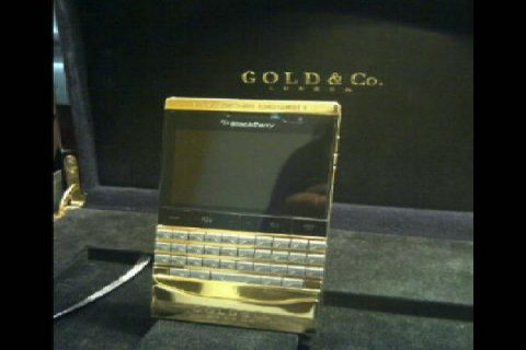 I DO SALE Brand New BlackBerry Porsche Design P\'9981 Gold