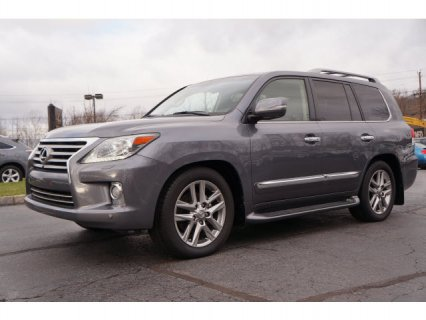 WTS: 2013 Lexus LX 570 4WD 4dr SUV Jeep Full Options