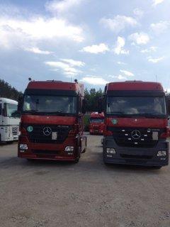 شاحنات اوروبية للبيع مرسيديس فولفو مان ايفيكو