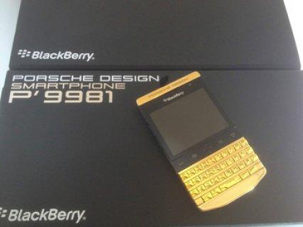 Blackberry Porsche P9981 & Blackberry Q10 with Special Pin