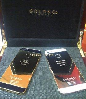 BlackBerry Z10 Gold & Silver (Add BBM 26FC4748)
