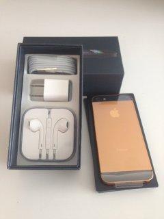 Apple Iphone 5s Gold (ADD BBM: 26FC4748)