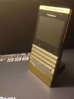 BlackBerry Porsche Gold /BB Z10/BB Q10/ Q5 ( BB Pin 23AC1187